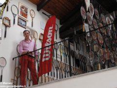 È nato a Baldissero il primo Museo della racchetta da tennis 6