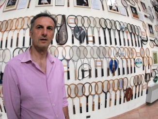 È nato a Baldissero il primo Museo della racchetta da tennis 7