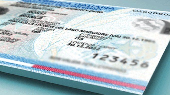 dal 3 ottobre 2017 parte la carta d'identità elettronica