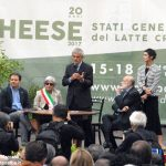 Inaugurata la rassegna Cheese e consegnato il premio Resistenza casearia