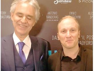Il compositore albese Gabriele Roberto: «La mia musica per Bocelli»