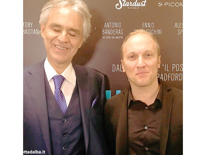 Gabriele Roberto e Andrea Bocelli