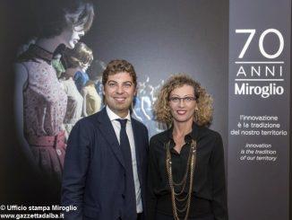 Inaugurata a Palazzo Banca d'Alba la mostra per i 70 anni della Miroglio 2