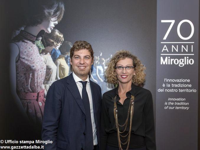 Giuseppe e Elena Miroglio