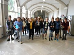 Primo giorno di scuola nella nuova sede del Pinot Gallizio 1