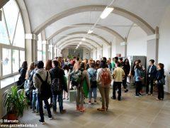 Primo giorno di scuola nella nuova sede del Pinot Gallizio 5