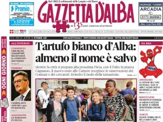 La copertina di Gazzetta di martedì 5 settembre