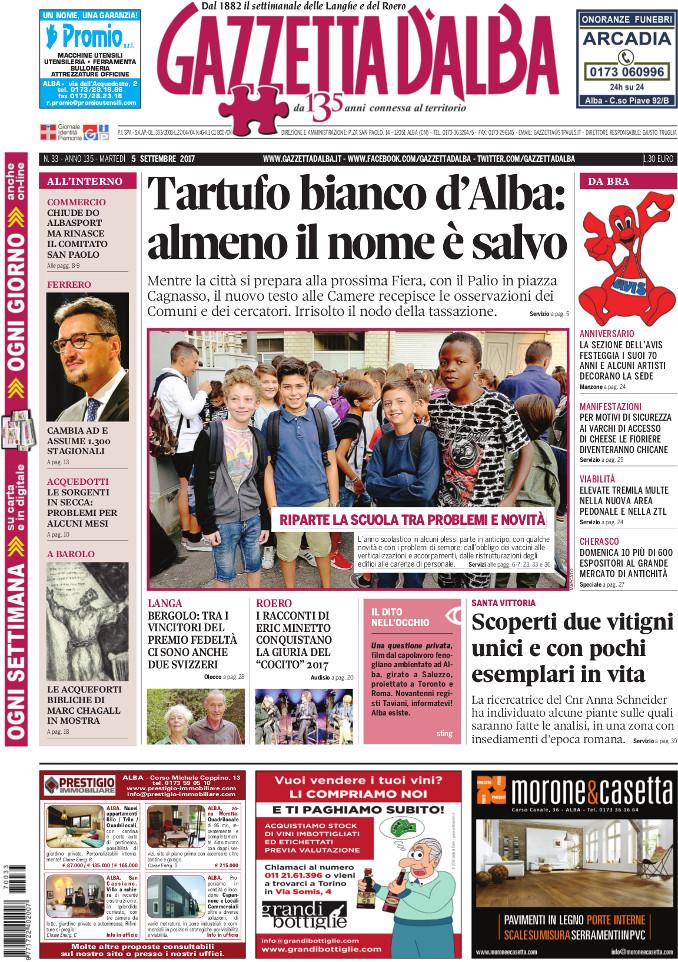 Prima_pagina_Gazzetta_dAlba_n_33_2017