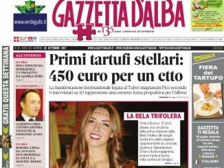 La copertina di Gazzetta di martedì 26 settembre