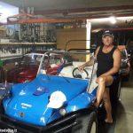 La nostalgia in mostra in un garage di Santo Stefano Belbo