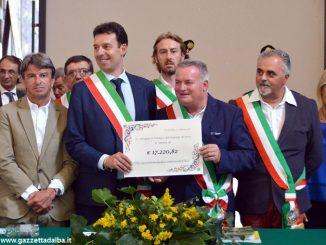 Sagra solidale a Cortemilia: donati oltre 17mila euro a un paese terremotato
