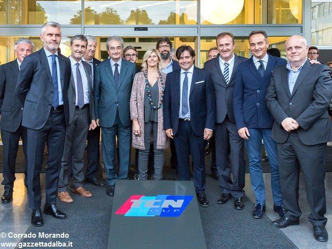 Ad Alba inaugurato il nuovo polo industriale Tcn group 12
