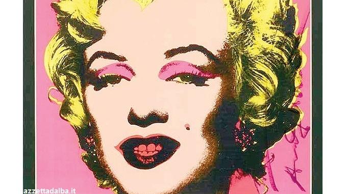 La Pop art di Andy Warhol in mostra a palazzo Mathis a Bra
