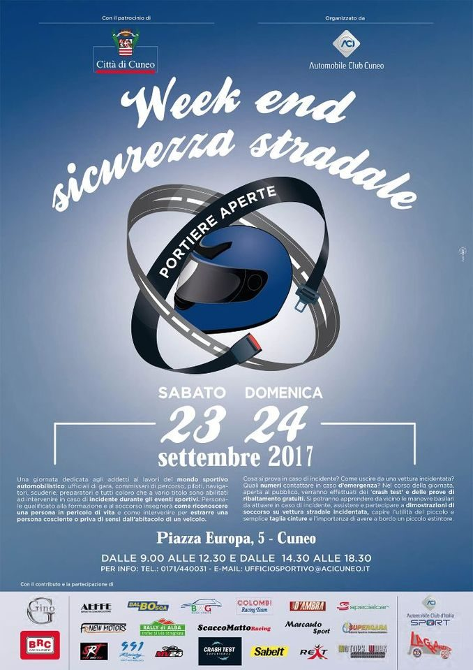 Due giorni di sicurezza stradale con l'Automobile Club Cuneo 1