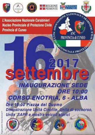 L'Associazione carabinieri inaugura la sede di Alba 1
