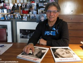 Bruno Murialdo unico italiano all'esposizione fotografi di Rauschenberg