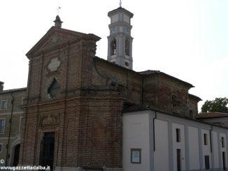 A Veglia di Cherasco la parrocchia inaugura il campanile
