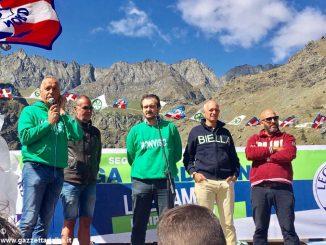 La Lega Nord sul Monviso per la festa del popolo piemontese