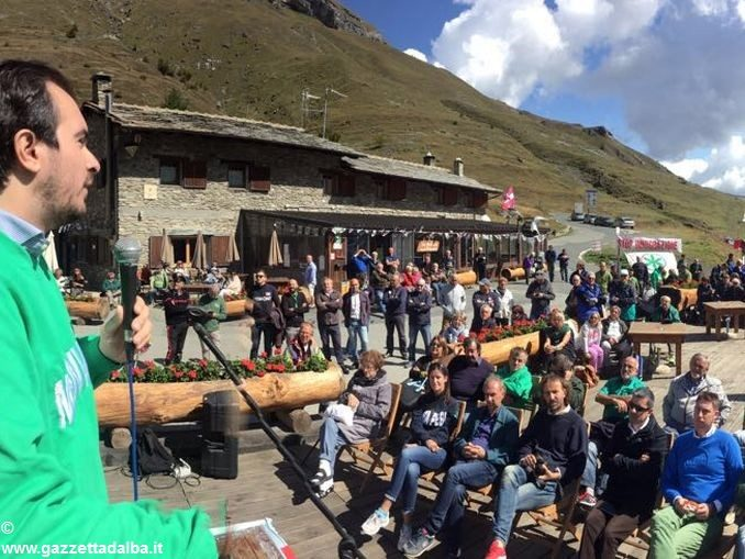 La Lega Nord sul Monviso per la festa del popolo piemontese 1