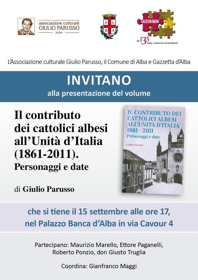 Giulio Parusso e i cattolici albesi che fecero l'Italia