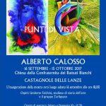 Le opere surrealiste di Alberto Calosso in mostra ai Battuti bianchi di Castagnole