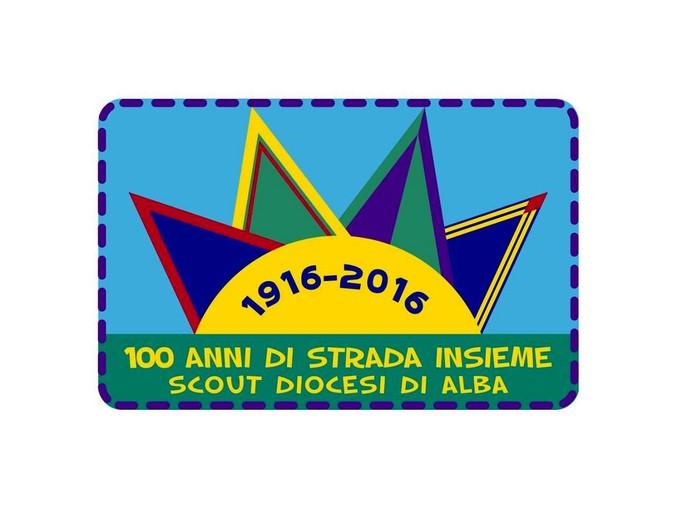 logo centenario scout alba