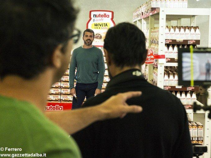 Luca Argentero gira la nuova campagna digital di Nutella B-ready