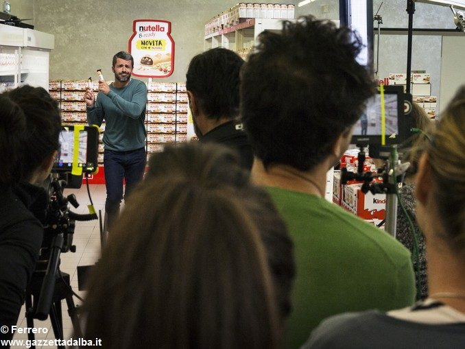 Luca Argentero gira la nuova campagna digital di Nutella B-ready 1