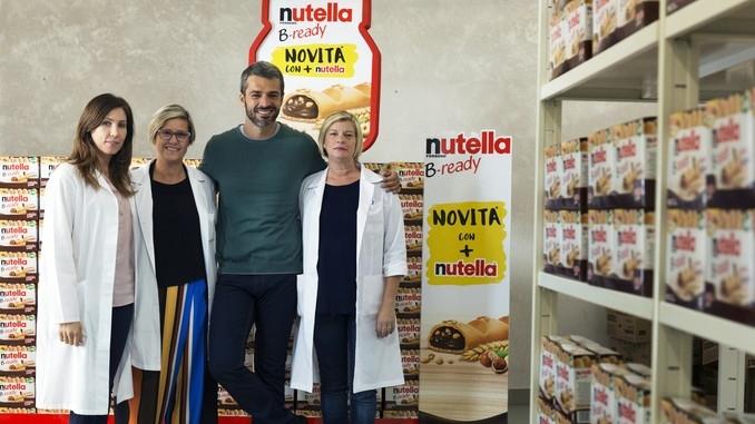 Luca Argentero  gira la nuova campagna digital di Nutella B-ready 2