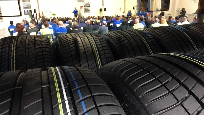 Michelin Cuneo inaugura un nuovo magazzino da 55mila metri quadri