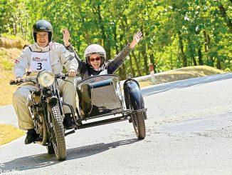 La grande passione di Dario Sebaste per le moto d'epoca