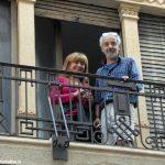 I decori del Settecento emergono in un palazzo in via Pierino Belli