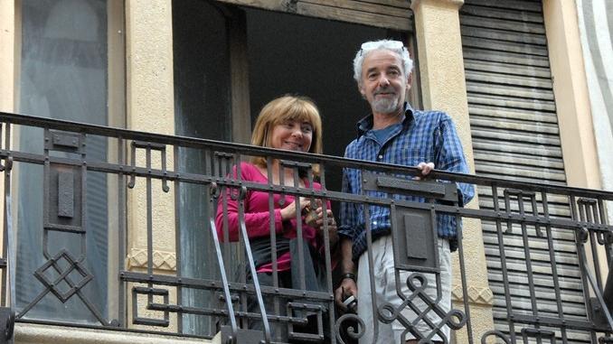 I decori del Settecento emergono in un palazzo in via Pierino Belli 2