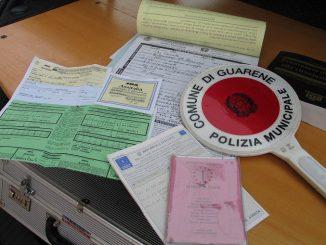 Extracomunitario con patente sospesa fermato a Baraccone, dopo un inseguimento