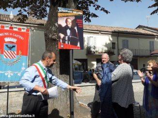 L'omaggio di Castino al re della fisarmonica Michele Corino