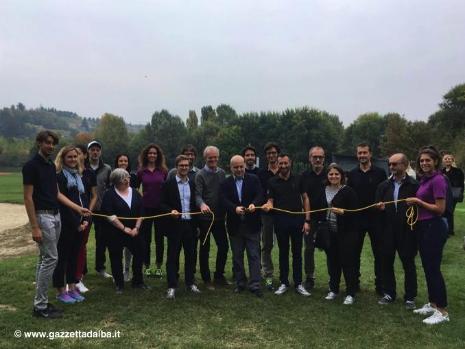 """Oggi, sabato 30 settembre, è stato inaugurato """"The link golf Alba"""""""