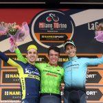 Diego Rosa ventiduesimo alla Milano-Torino vinta da Uran