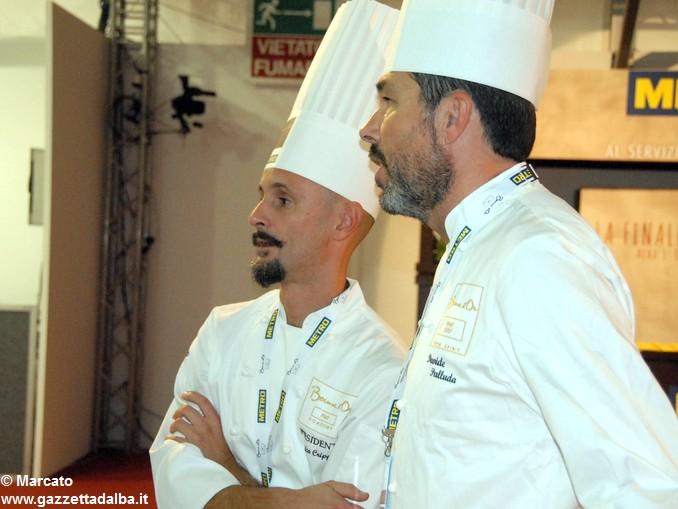 Bocuse d'or Da sx Enrico Crippa e Davide Palluda 2