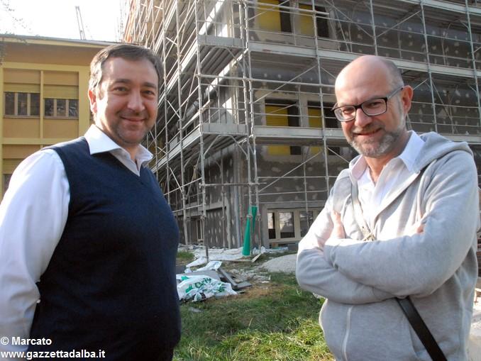 Canale Sindaco Enrico Faccenda e ing Roberto Barge –