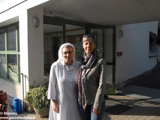 Canale Suor Annamaria e Angiola Garelli responsabile asilo paritario