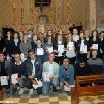 I Cavalieri di san Michele hanno premiato i migliori studenti roerini