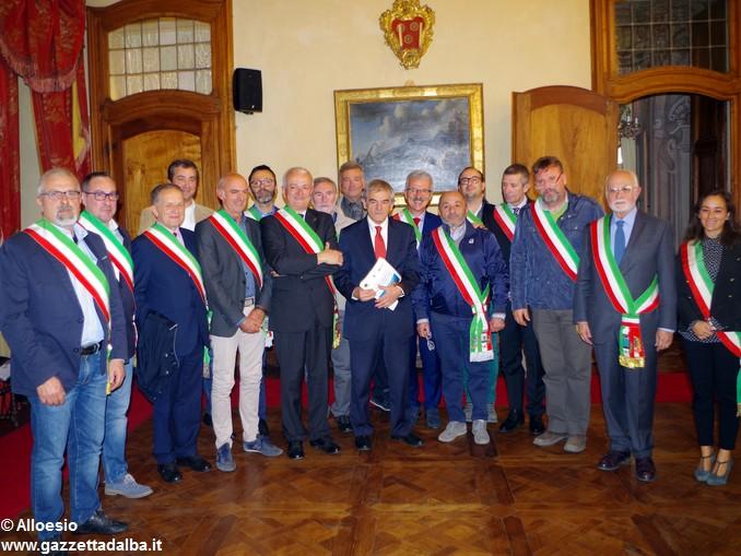 Chiamparino coi sindaci del Roero (3)