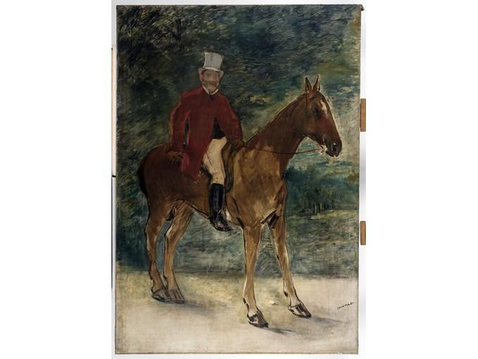 Edouard Manet_Il Signor Arnaud a cavallo