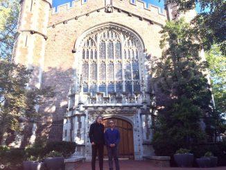 Filippo Cosentino visiting professor negli Stati Uniti 2