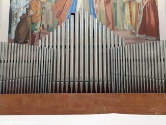 Restauro in corso per l'organo della chiesa di Cristo Re