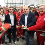 In via Ognissanti inaugurato il nuovo mezzo della Croce rossa