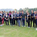 Alba: è stato inaugurato il campo da golf al parco Tanaro
