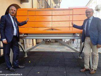 Sabato 28, a Paroldo, sarà inaugurata la maxi-panchina