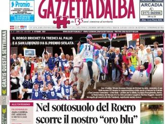 La copertina di Gazzetta di martedì 3 ottobre