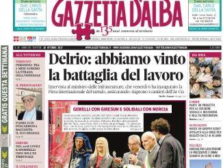 La copertina di Gazzetta di martedì 10 ottobre